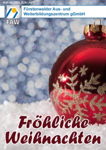 FAW_Fröhliche Weihnachten 2016