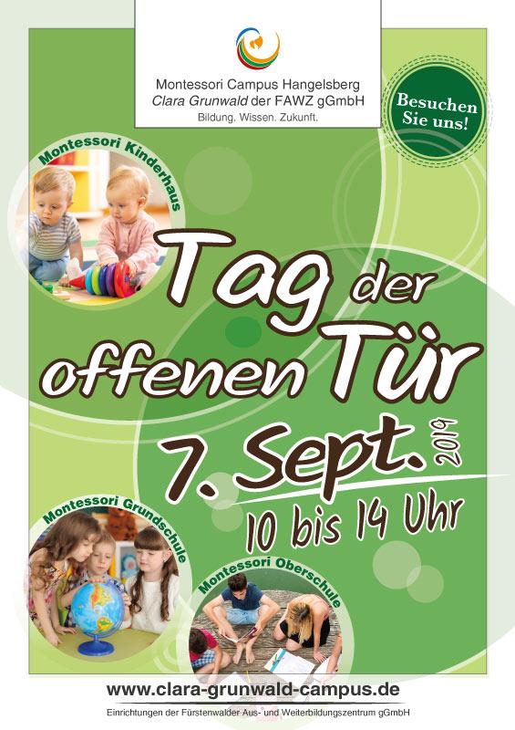 Montessori Campus Hangelsberg Clara Grunwald_Tag der offenen Tür am 7. September 2019